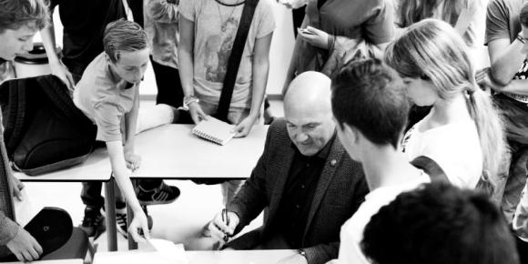 Meet and greet met Andre Kuipers